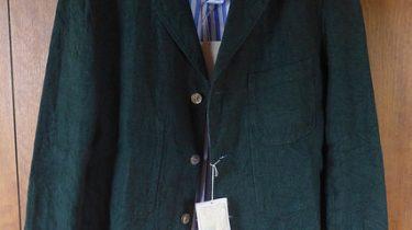 ★[ジャケット]リネンSAILジャケット、レギュラーシャツ(45R)