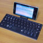 ★[スマホ]Bluetooth Keyboard Plier ブルー(スリーイーホールディングス)