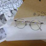 ★[メガネ]ISSEY MIYAKE × 金子眼鏡 BONE SERIES V & ZEISS EnergineMe DuraVision BluePortect(金子眼鏡)
