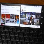 ★[スマホ]Gemini PDA ブラック かな印字モデル(PLANET COMPUTERS)テザリング、2画面操作、Luncher3編
